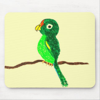 'Pretty Polly'  Mouespad Mouse Pad