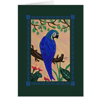Pretty Polly Portrait card