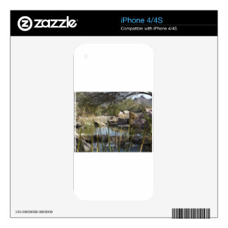 Pretty Pond Skin For iPhone 4S