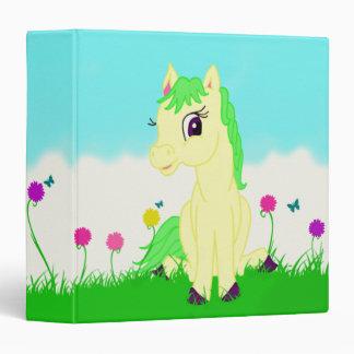 Pretty Pony Binder