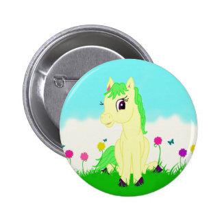Pretty Pony Button Flair