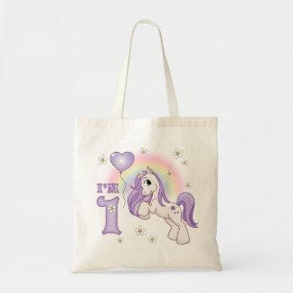 Pretty Pony First Birthday Bags