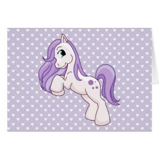 Pretty Pony Greeting Cards