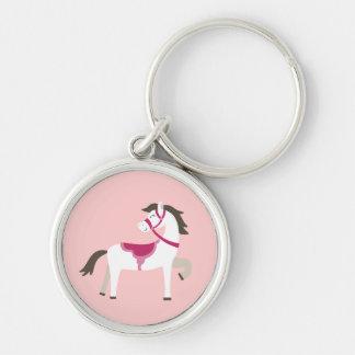 Pretty Pony Keychain