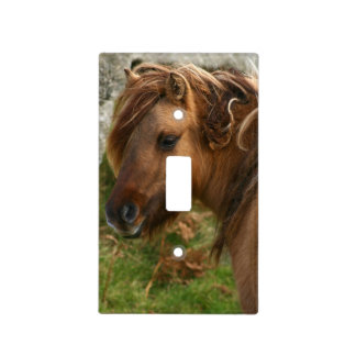 Pretty Pony Light Switch Cover
