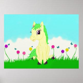 Pretty Pony Poster