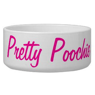 Pretty Poochie Dog Bowl