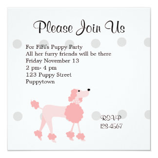Pretty Poodle Card