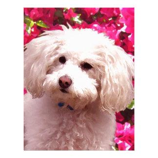 Pretty Poodle Letterhead