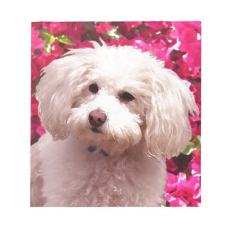 Pretty Poodle Note Pad