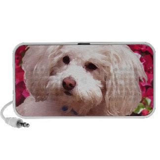 Pretty Poodle Portable Speaker