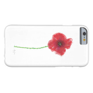 Pretty Poppy Barely There iPhone 6 Case