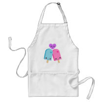 Pretty Popsicles BFF Kawaii Apron