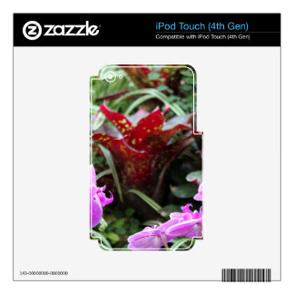 Pretty Posies Decal For iPod Touch 4G