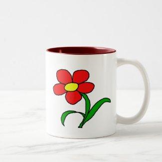Pretty posy mug