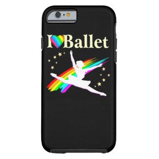 PRETTY PRIMA BALLERINA DESIGN TOUGH iPhone 6 CASE
