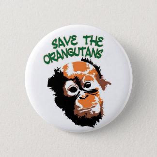 Pretty Primate Pinback Button