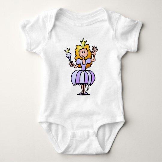 Pretty Princess Baby Bodysuit