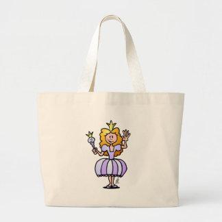 Pretty Princess Canvas Bag