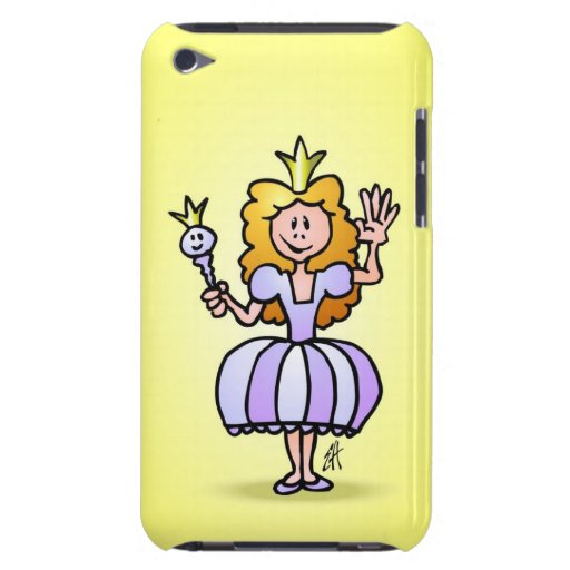 Pretty Princess Barely There iPod Cover