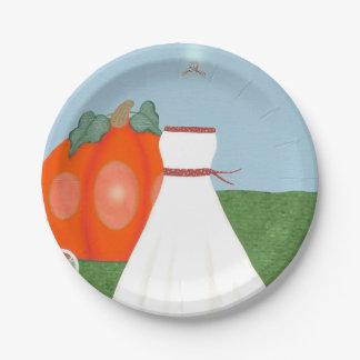 pretty princess bridal shower paper plates