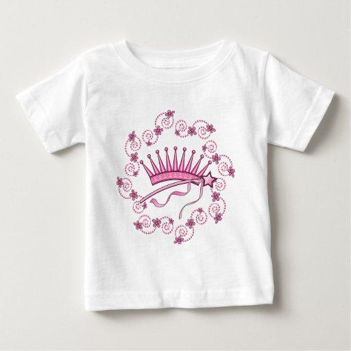 Pretty Princess Crown Baby T-Shirt