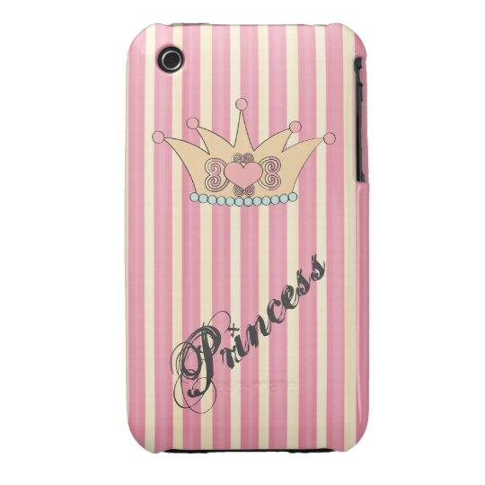 Pretty Princess Crown iPhone 3G Case