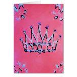 Pretty Princess Greeting Card