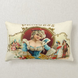 Pretty Princess Lumbar Pillow