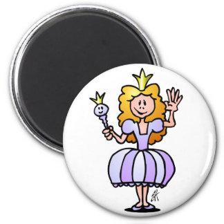 Pretty Princess Fridge Magnet