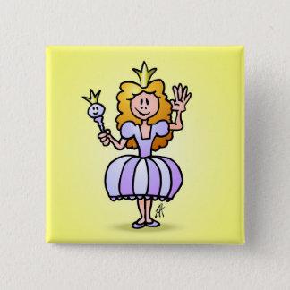 Pretty Princess Pinback Button