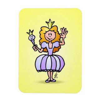 Pretty Princess Rectangular Magnets