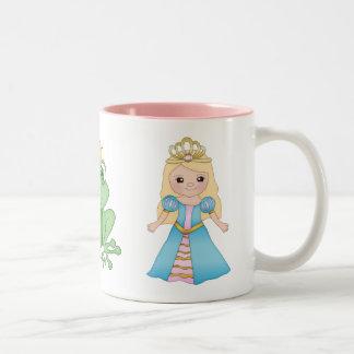 Pretty Princess & Prince Frog Mug