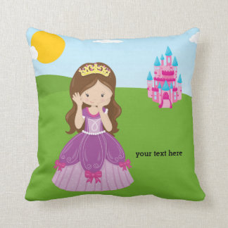 Pretty Princess Throw Pillow