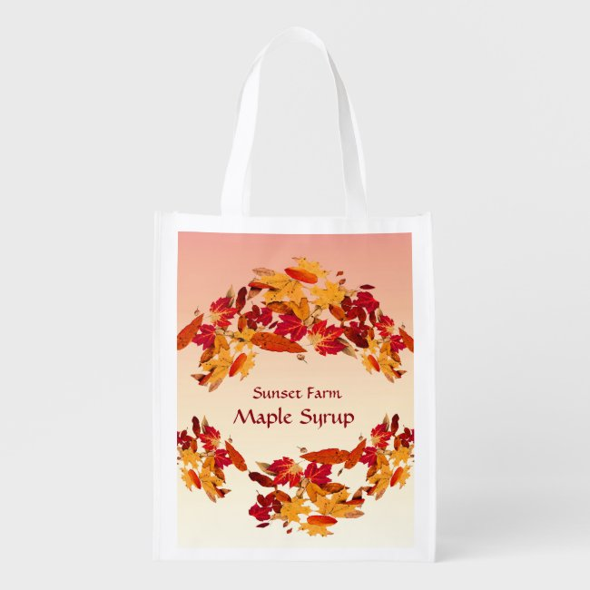 Pretty Promotional Maple Syrup Reusable Bag