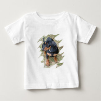 Pretty Puppy Baby Tee