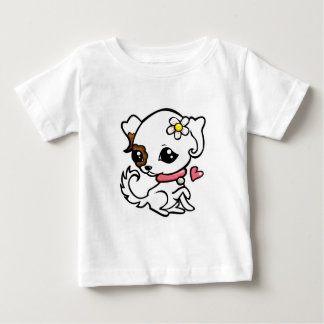 Pretty puppy Jack Russell Infant T-shirt
