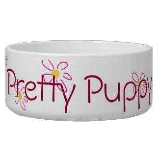 Pretty Puppy Pet Bowl