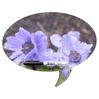 Pretty Purple Anemone Dry Erase Whiteboards