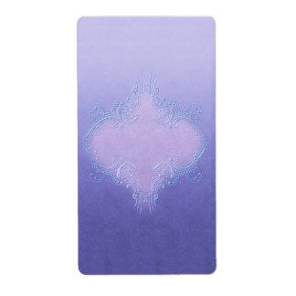 Pretty Purple Apothecary Label