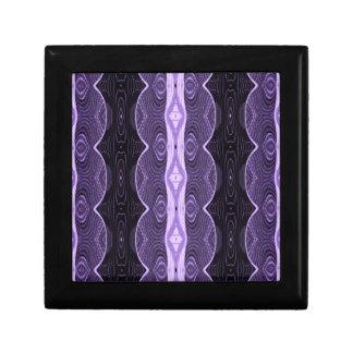 pretty purple black lace design jewelry box
