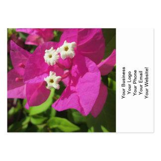 Pretty Purple Bougainvillea Large Business Card
