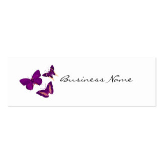 Pretty Purple Butterfly  business cards