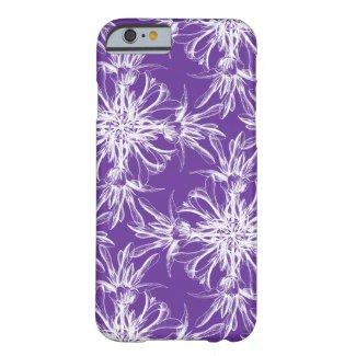 Pretty Purple Damask Pattern