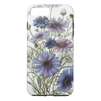 Pretty Purple Floral iPhone 7 Plus Case