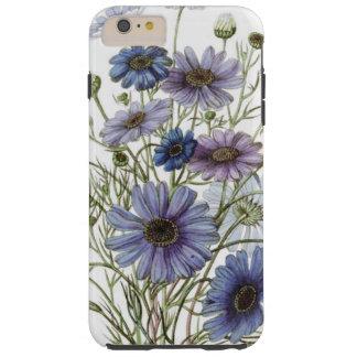 Pretty Purple Floral Tough iPhone 6 Plus Case
