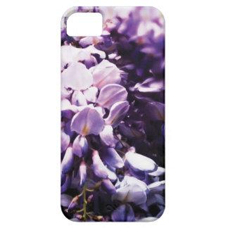 Pretty Purple Flowers Wisteria iPhone 5 case
