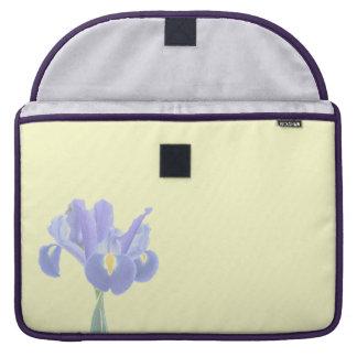 "Pretty Purple Iris Macbook Pro 15"" Sleeve"