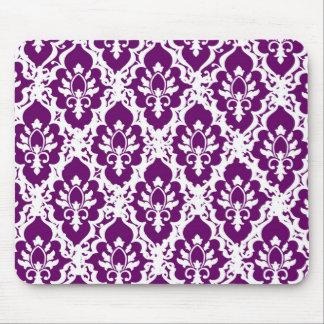 Pretty Purple Lace Mouse Pad