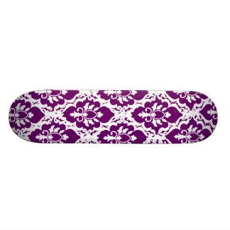 Pretty Purple Lace Custom Skateboard